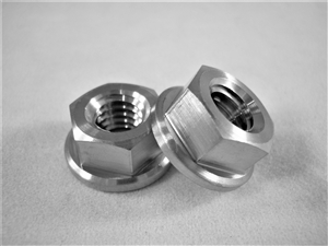 "5/16""-18 Coarse Thread Hex Flange Nut"