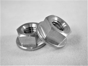 M6-1 Hex Flange Nut