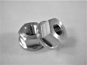 "1/4""-28 Fine Thread Hex Flange Nut"