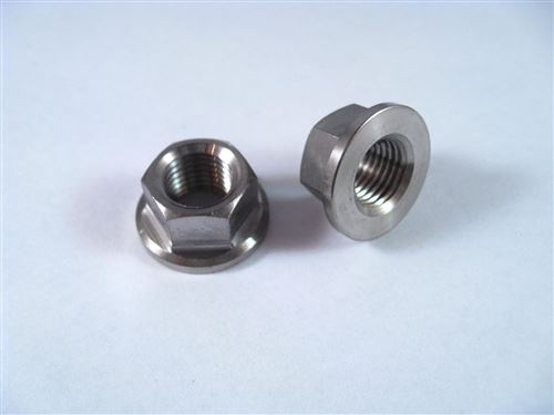 3 8 Quot 24 Fine Thread Hex Flange Nut Reduced Wrench