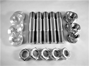 "5/8""-18 x 2.5"" Wheel Stud Kit"