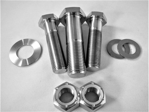 Wishbone Bolt Kit, All Titanium