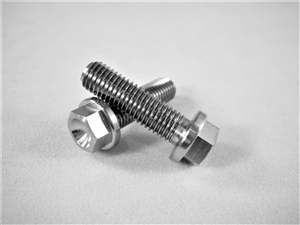 "1/4""-28 x 7/8"" Ultra-Light Hex-Flange Bolt"