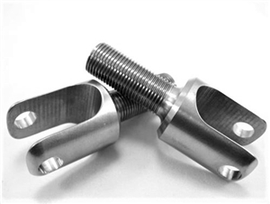 "5/8""-18 Birdcage Clevis with 3/8"" Hole, 3/4"" Throat"