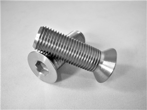 "1/2""-20 x 1-1/2"" Countersunk Socket Screw, Reduced Head"