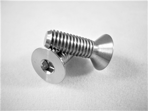 M5-0.8 x 15mm Countersunk Socket Screw