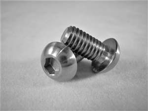 M6-1 x 12.5mm Button Head Socket Screw