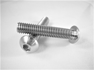 M8-1.25 x 40mm Button-Head Socket Screw