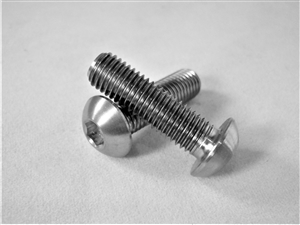 "1/4""-28 x 7/8""  Button-Head Socket Screw"