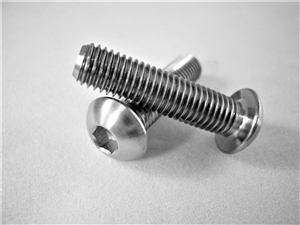 "1/4""-28 x 1""  Button-Head Socket Screw"