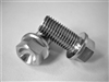 M10-1.25 x 20mm Ultra-Light Hex-Flange Bolt
