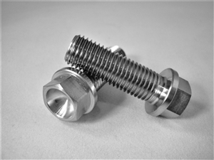 M10-1.25 x 30mm Ultra-Light Hex-Flange Bolt