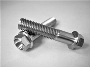 M10-1.25 x 45mm Ultra-Light Hex-Flange Bolt