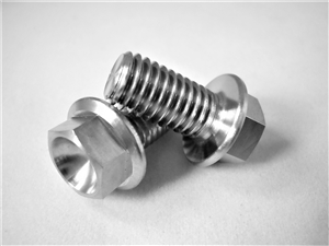 M8-1.25 x 15mm Ultra-Light Hex-Flange Bolt
