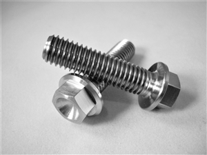 M8-1.25 x 30mm Ultra-Light Hex-Flange Bolt