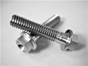 M8-1.25 x 35mm Ultra-Light Hex-Flange Bolt