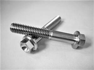 M8-1.25 x 50mm Ultra-Light Hex-Flange Bolt