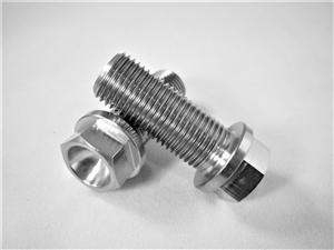 Metric M12-1 25 Hex Flange Bolts | 140Ksi Titanium Fasteners
