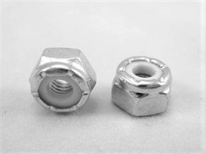 #10-32 Steel Nylon Insert Lock Nut