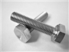"1/4""-28 x 1-1/8"" Hex Head Bolt"