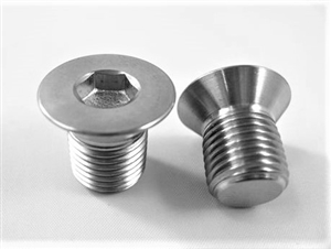 "1/2""-20 x 3/4"" Countersunk Socket Screw, Reduced Head"