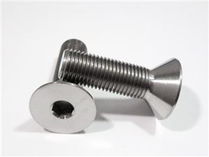 "3/8""-24 x 1-1/4"" Countersunk Socket Screw"