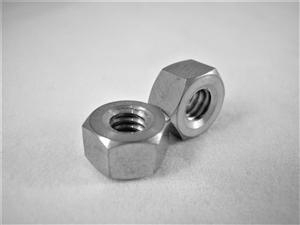 #12-24 UNC Coarse Thread Ti Hex Nut