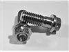 "3/8""-16 x 1"" Ultra-Light Hex-Flange Bolt, Drilled for Safety Wire"