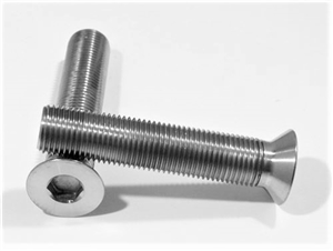 "1/2""-20 x 2-1/2"" Countersunk Socket Screw, Reduced Head"