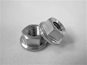 M5-0.8 Hex Flange Nut