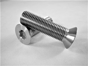 "1/2""-20 x 1-3/4"" Countersunk Socket Screw, Reduced Head"