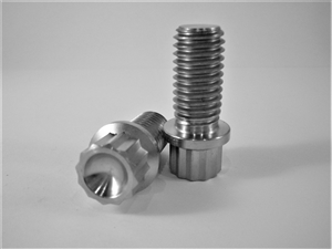 "1/2""-13 x 1"" 12 Pt. Ultra-Light Flange Bolt"