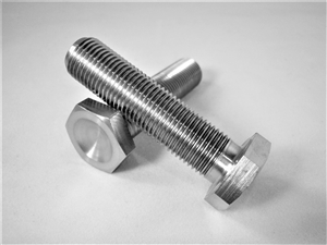"1/2""-20 x 2"" Hex Head Bolt, Fully Threaded"