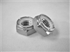 "5/16""-24 Hex Nylon Insert Lock Nut, 1/2 Height"