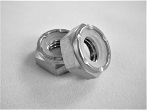 "5/16""-18 Hex Nylon Insert Lock Nut , 1/2 Height"