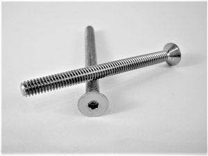 "#8-32 x 2"" Countersunk Socket Screw"