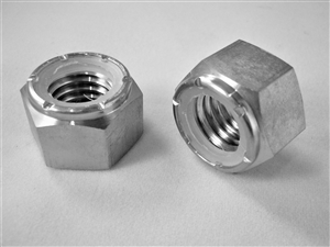 "1/2""-13 Hex Nylon Insert Lock Nut"