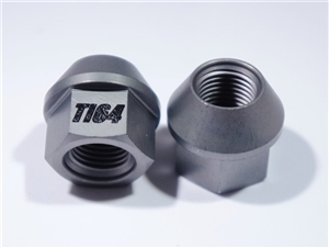 "1/2""-20 Lug Nut, 3/4"" Wrench, 60 Deg. Tapered Seat, Gray"