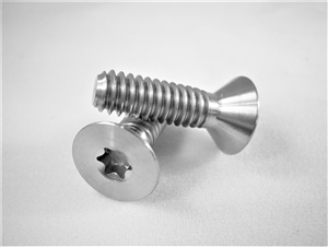 "1/4""-20 x 7/8""  Torx Countersunk Screw"