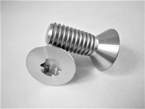 "3/8""-16 x 1"" Torx Countersunk Screw"