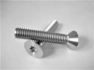 "3/8""-16 x 2"" Torx Countersunk Screw"