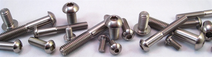 Titanium Button Head Screws: SAE & Metric Button Head Bolts